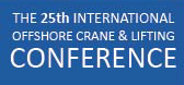 25th Crane and lifting conference